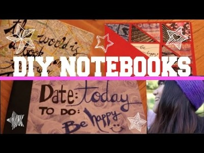 DIY Customized Notebook Covers. Kasey Chen