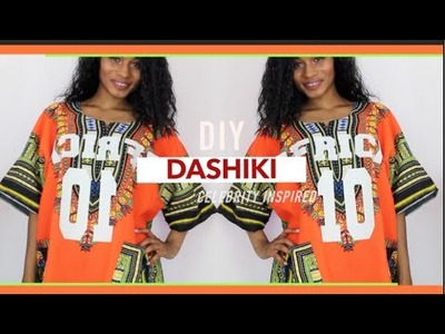 DIY Dashiki Jersey| Celebrity Inspired |