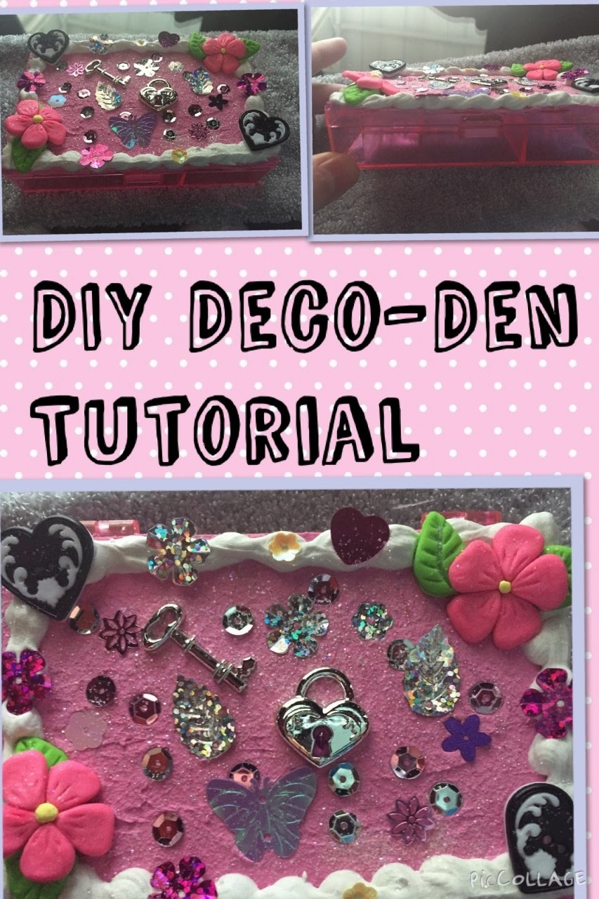 DIY Deco-Den Trinket Box! (Very Easy)