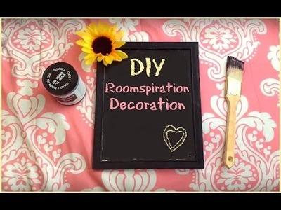 DIY ROOMSPIRATION DECORATION