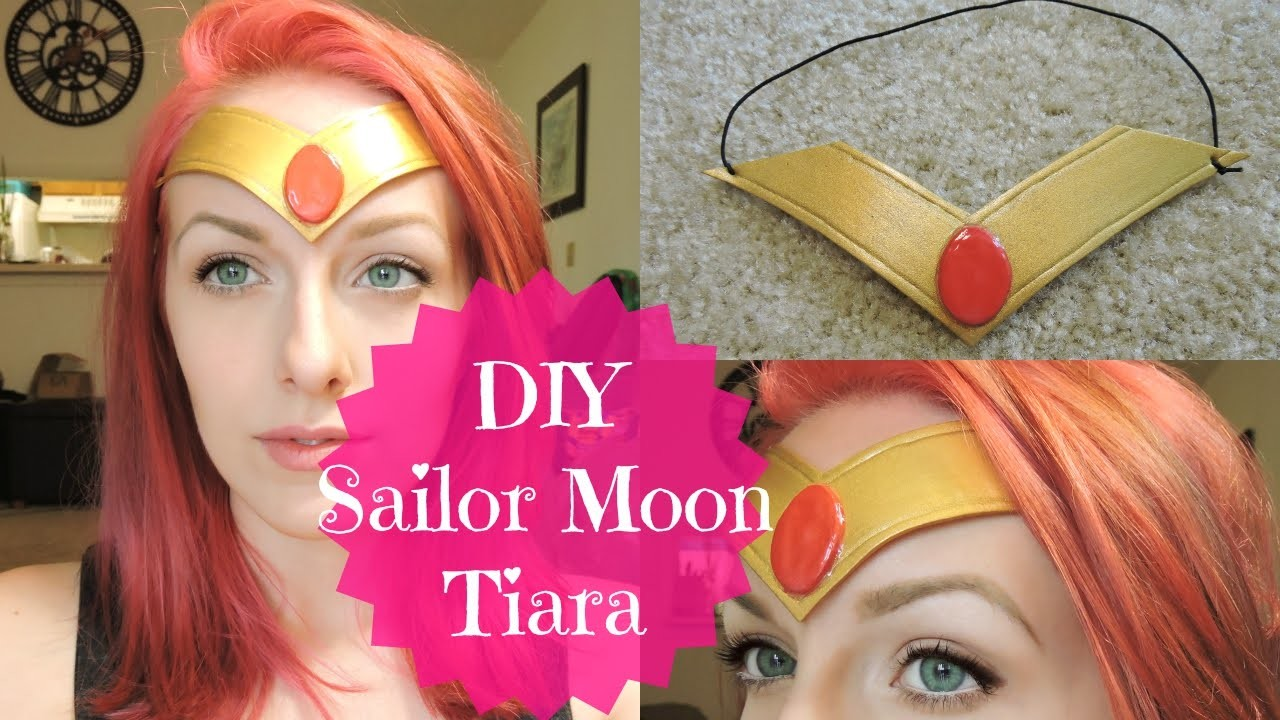 DIY Sailor Moon Tiara. Headband | Super Cheap & Easy