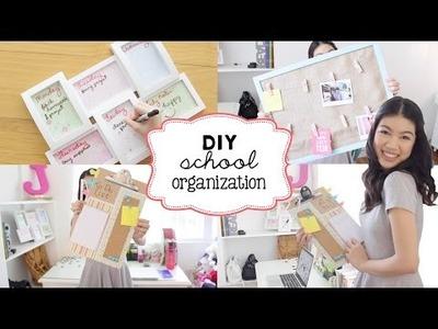 DIY School Organization Ideas