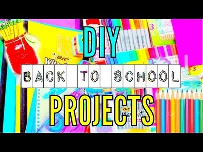DIY School Supplies: Binders, Pencils & Organization 2015!