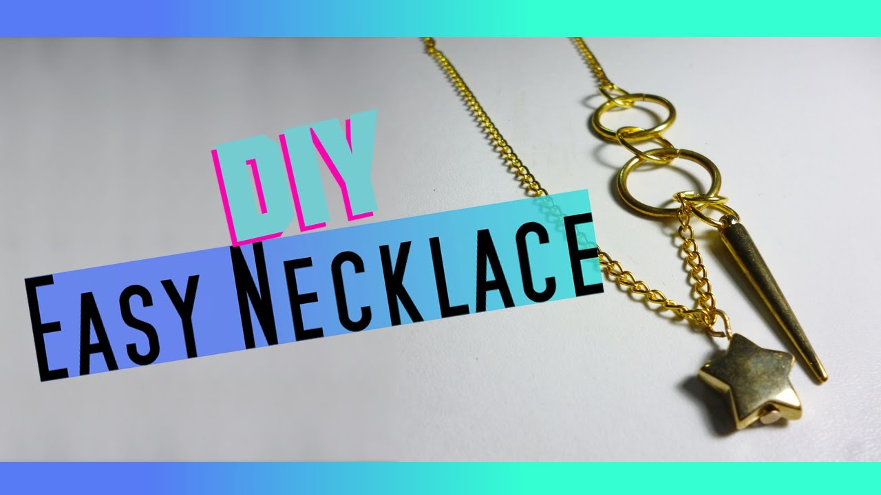 Easy Necklace - DIY