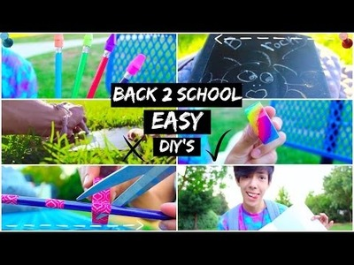 Easy Simple Back To School DIY's!!