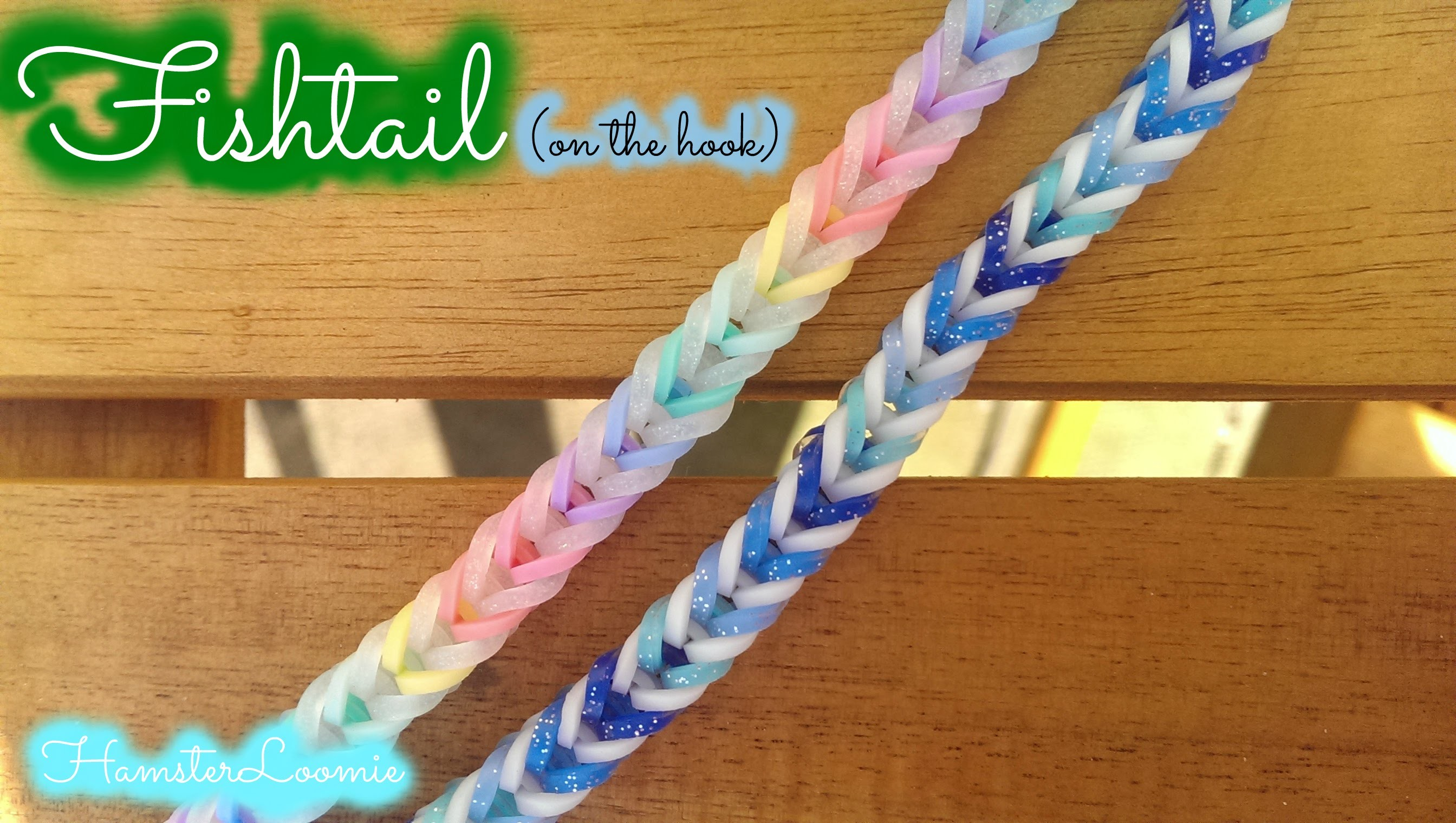 FISHTAIL bracelet tutorial || hook