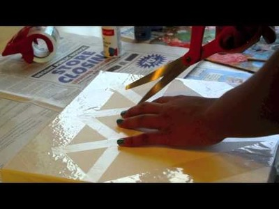 Galaxy diamond painting DIY