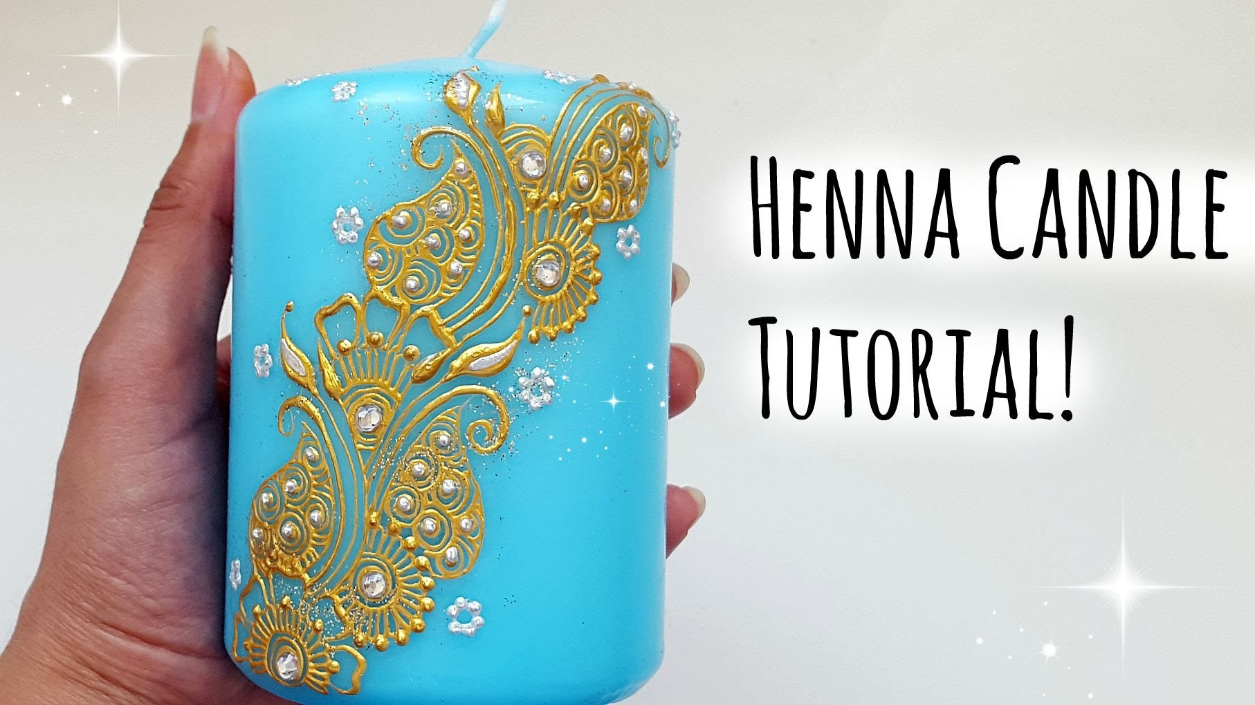 Henna Candle Tutorial |Henna Art by Aroosa