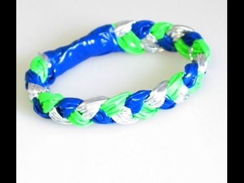 How to Make a Duct Tape Bracelet Tutorial