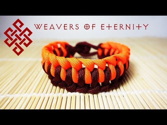 How To Tie a Single Genoese Bar Bracelet Tutorial