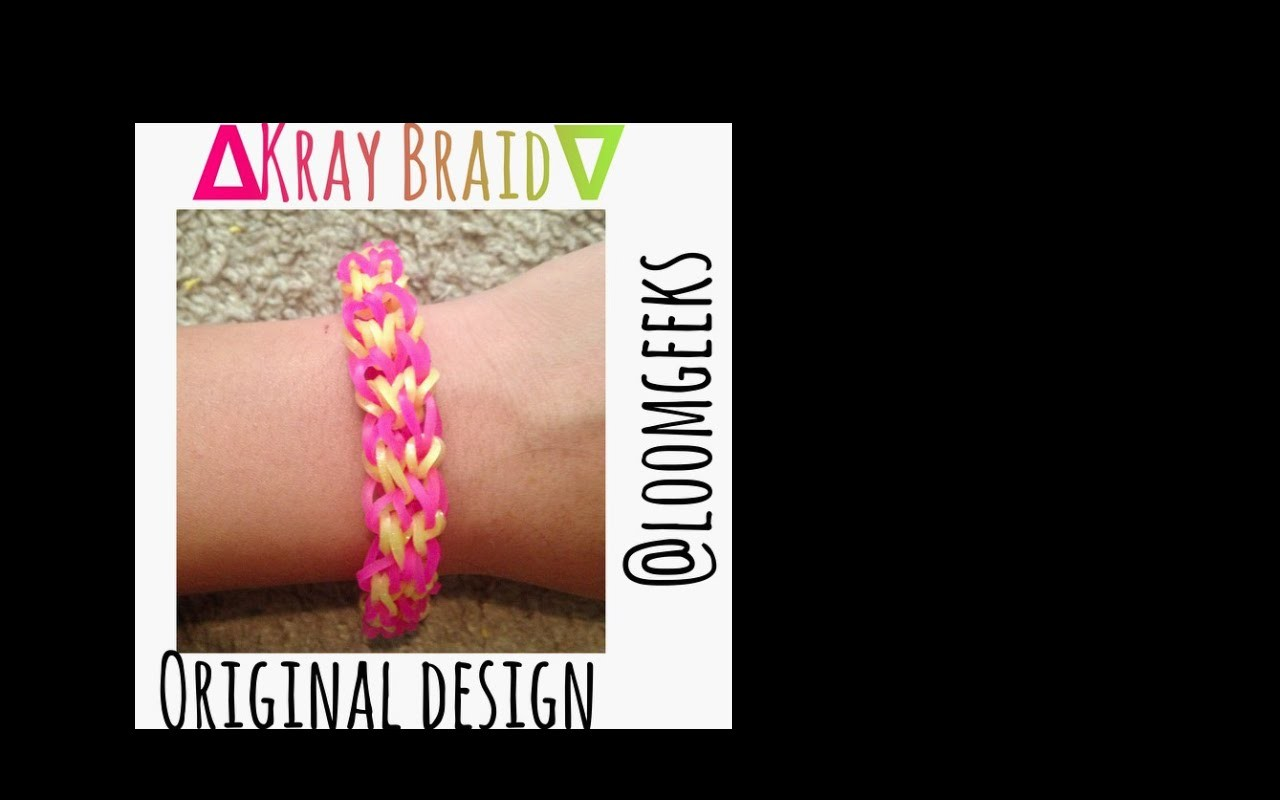Kray Braid |Monster Tail |Tutorial |How To