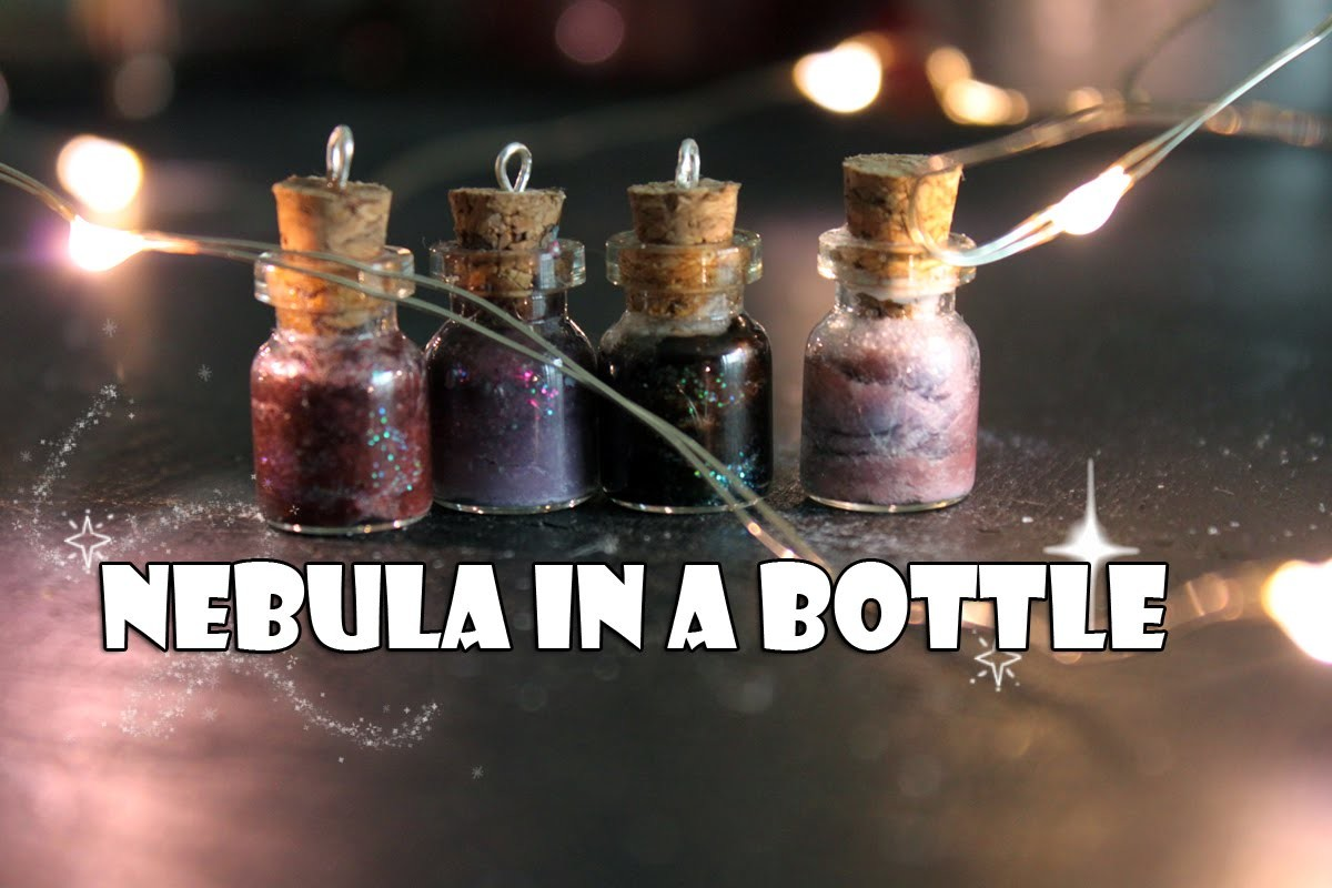 ☾★  Nebula in a Bottle Tutorial ★  ♡