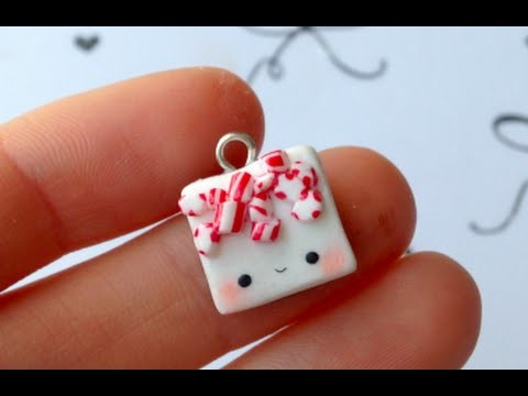 Peppermint Bark Charm Tutorial