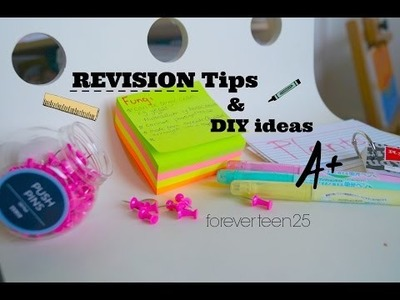 REVISION Tips, DIY ideas, apps