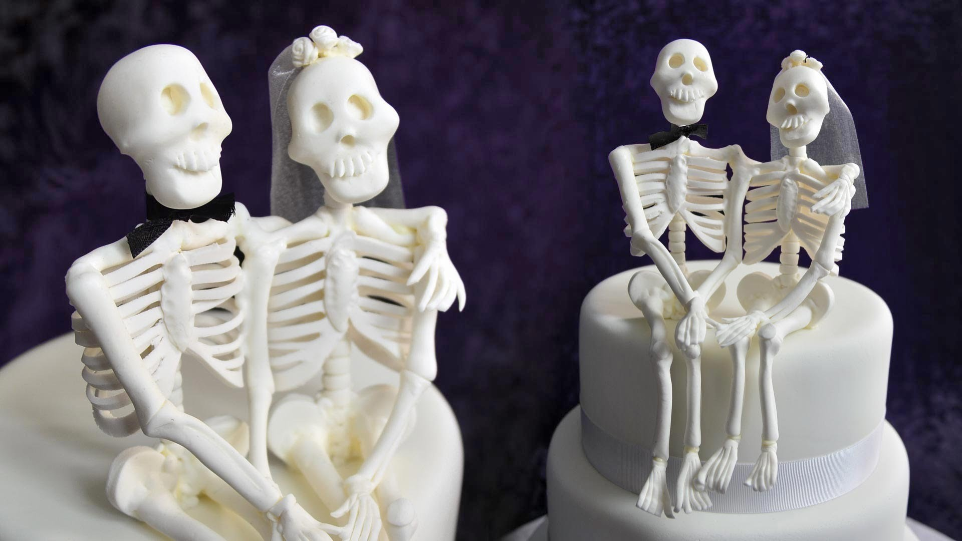 Skeleton Couple Topper Tutorial - Sample
