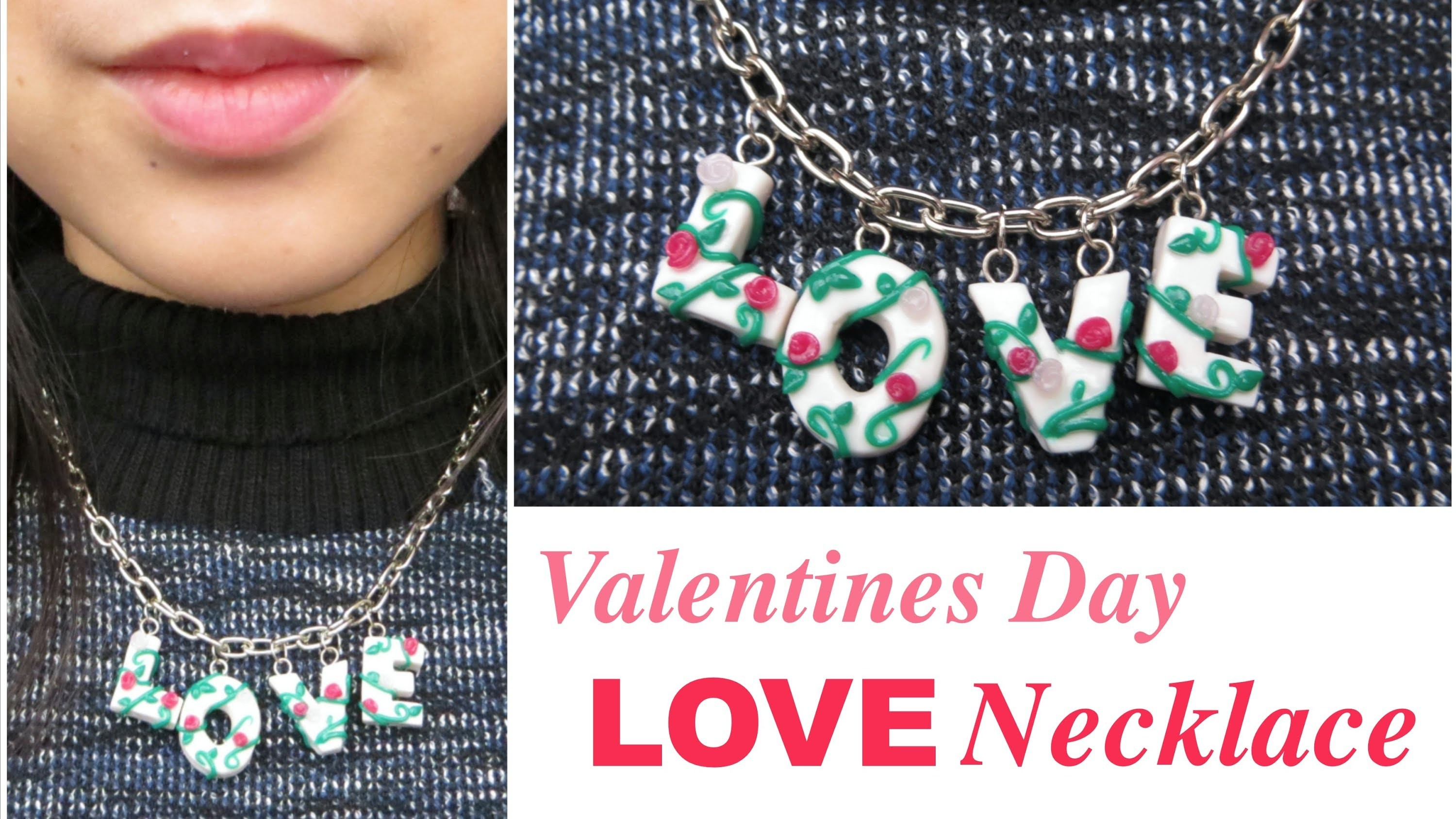 Tutorial - LOVE Necklace