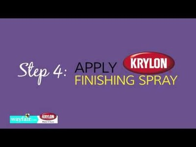 DIY 1 Bar Stool 3 Ways with Krylon™