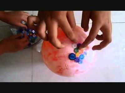 DIY: BUTTONS BOWL ( SMAN 12 Medan )