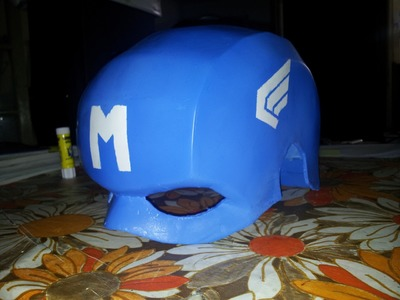 DIY Captain America (Morocco) - Painting - Part3