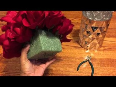 DIY Dollar Tree Valentine's Day Centerpiece