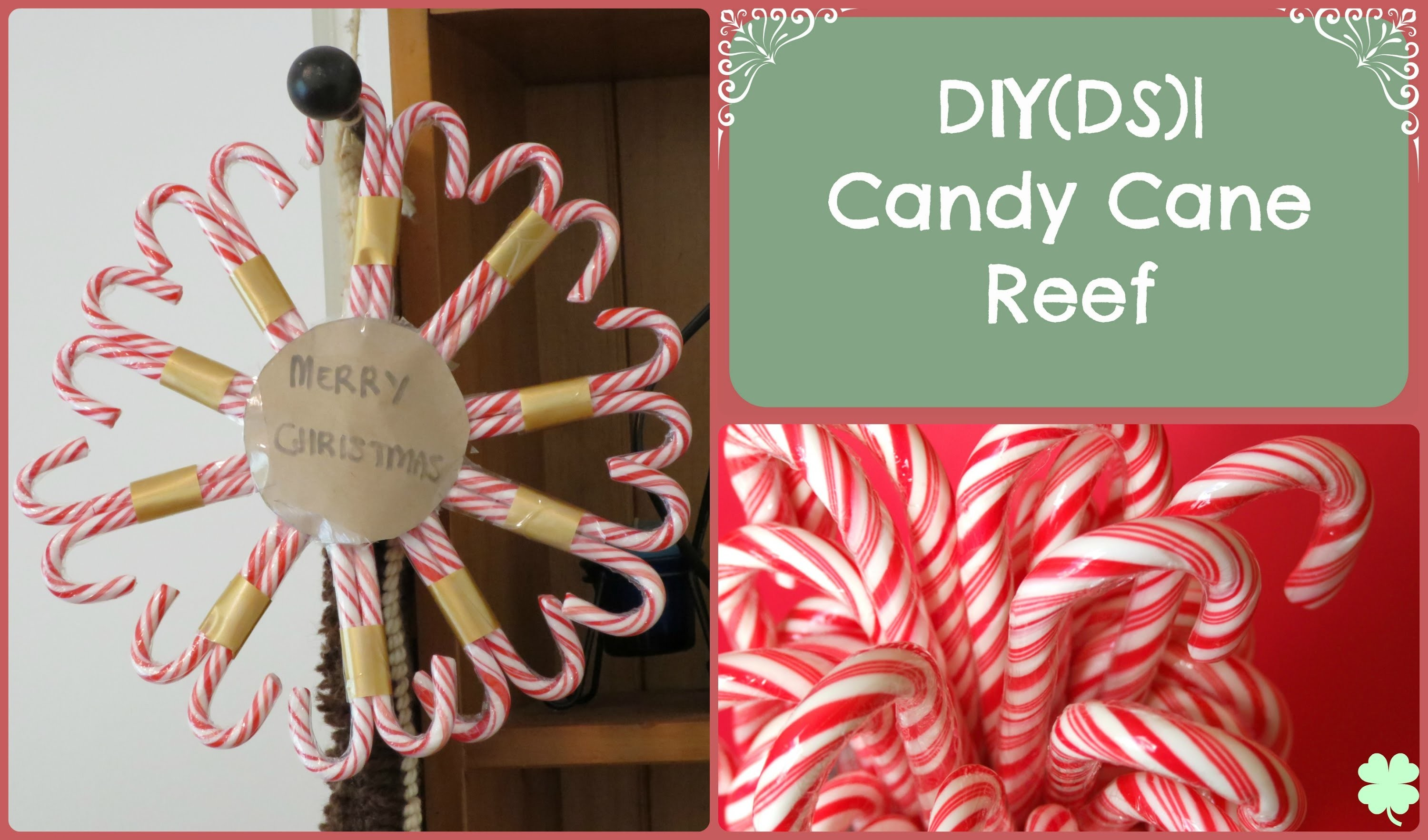 DIY(DS)| Candy Cane Reef