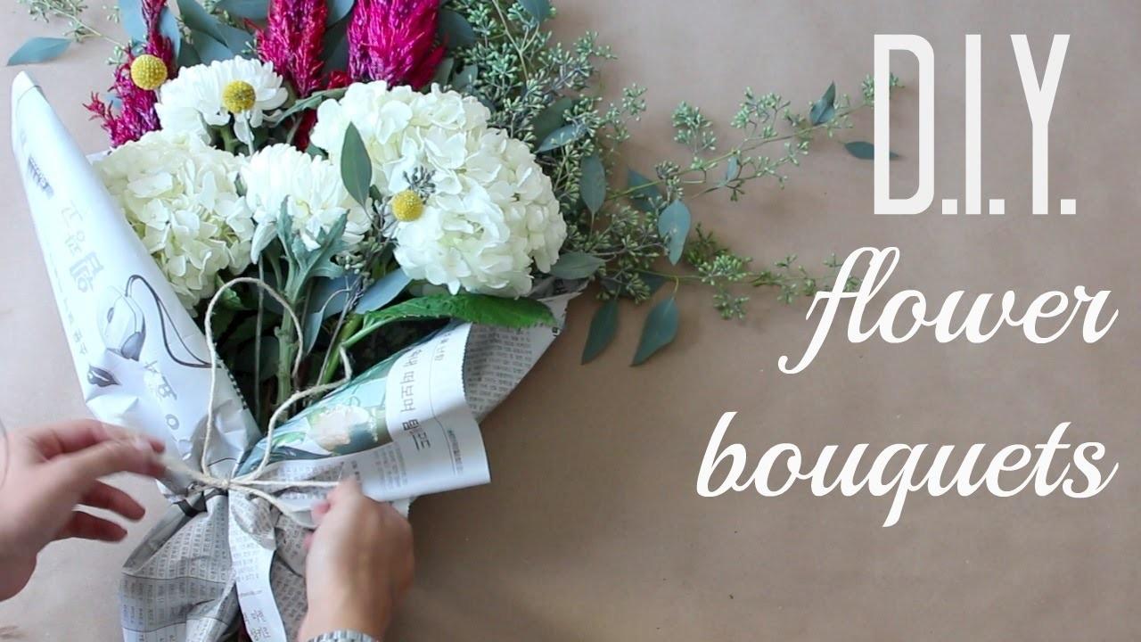 DIY Flower Bouquets | Anna Creative