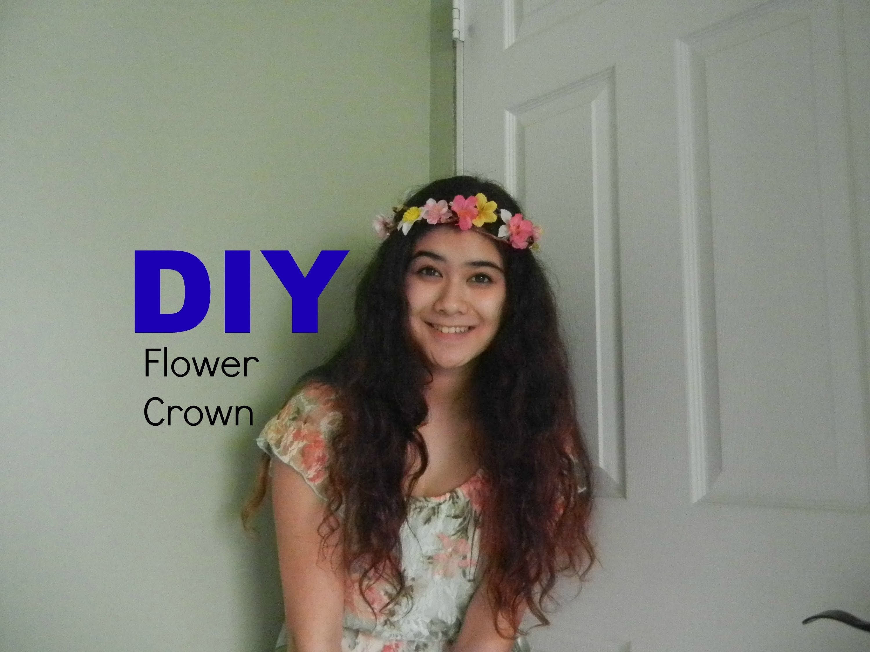 DIY: Flower Crown | Taylor