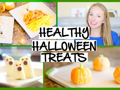 DIY Healthy Halloween Treats