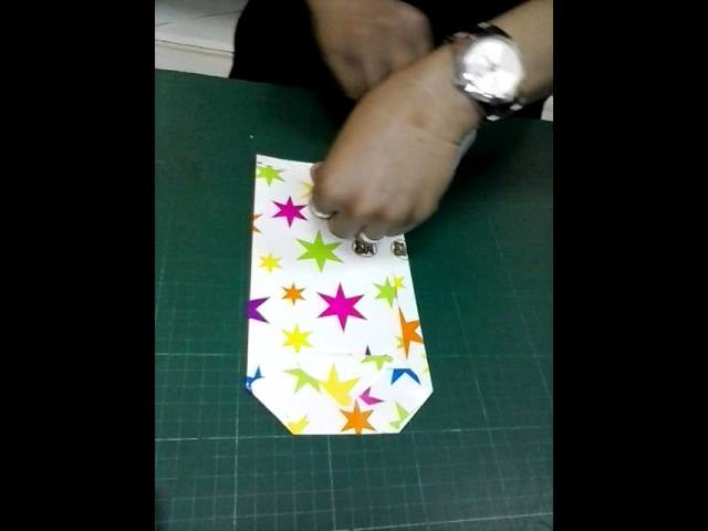 DIY How to make a cool longated Gift Wrap