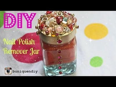 DIY: NAIL POLISH REMOVER JAR