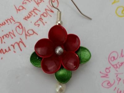 DIY: Ohrringe aus Nagellack (Teil 2)