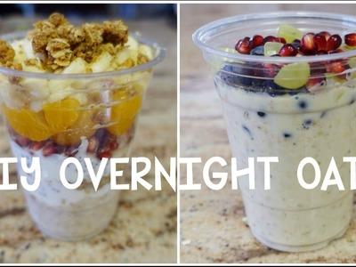 DIY Overnight Oats ♡ 2 Recipes! #cyeats