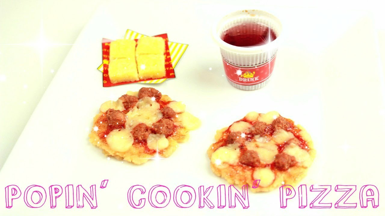 DIY Pizza - Japanese Candy - Poppin' Cookin'.Happy Kitchen