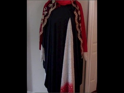 DIY: Simple, Easy Eid Abaya 1