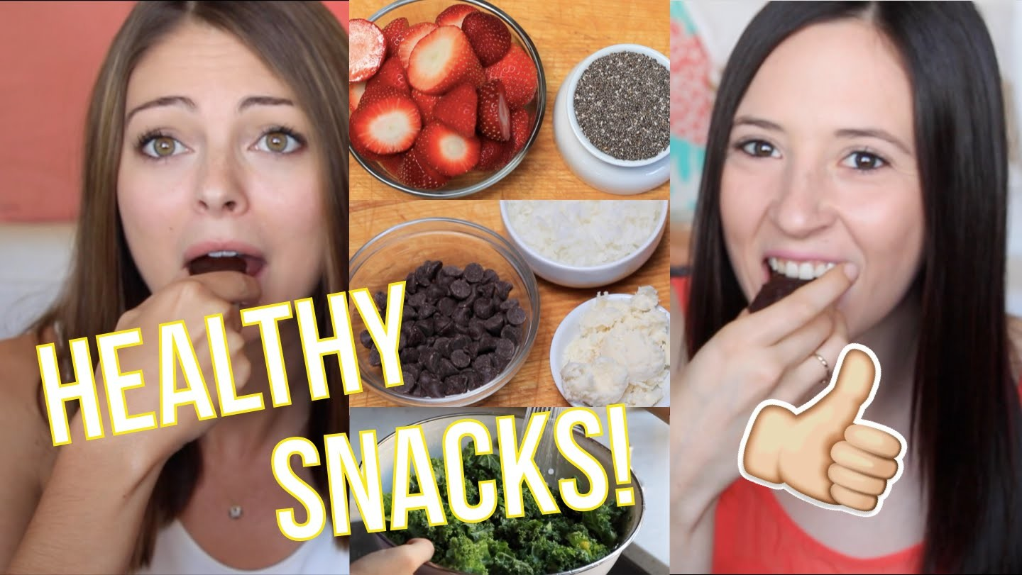 DIY Snacks!! 4 Healthy Snacks You HAVE to Try!
