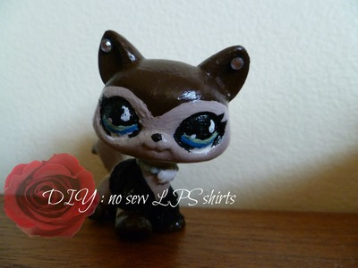 LPS DIY : t-shirts [NO SEW OR GLUE]
