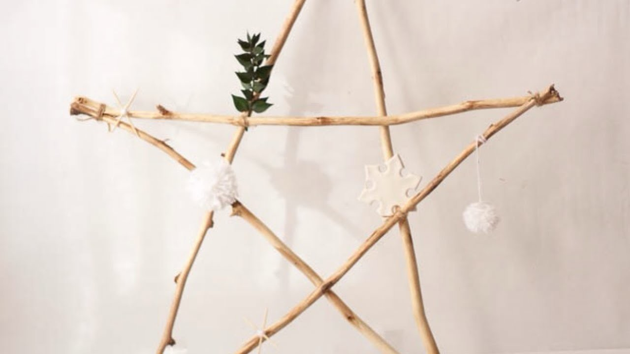 Make a Delicate Giant Twig Star - DIY Home - Guidecentral