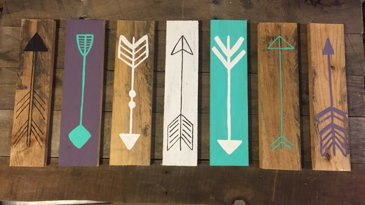 Make a Rustic Decorative Arrow Sign - DIY Home - Guidecentral
