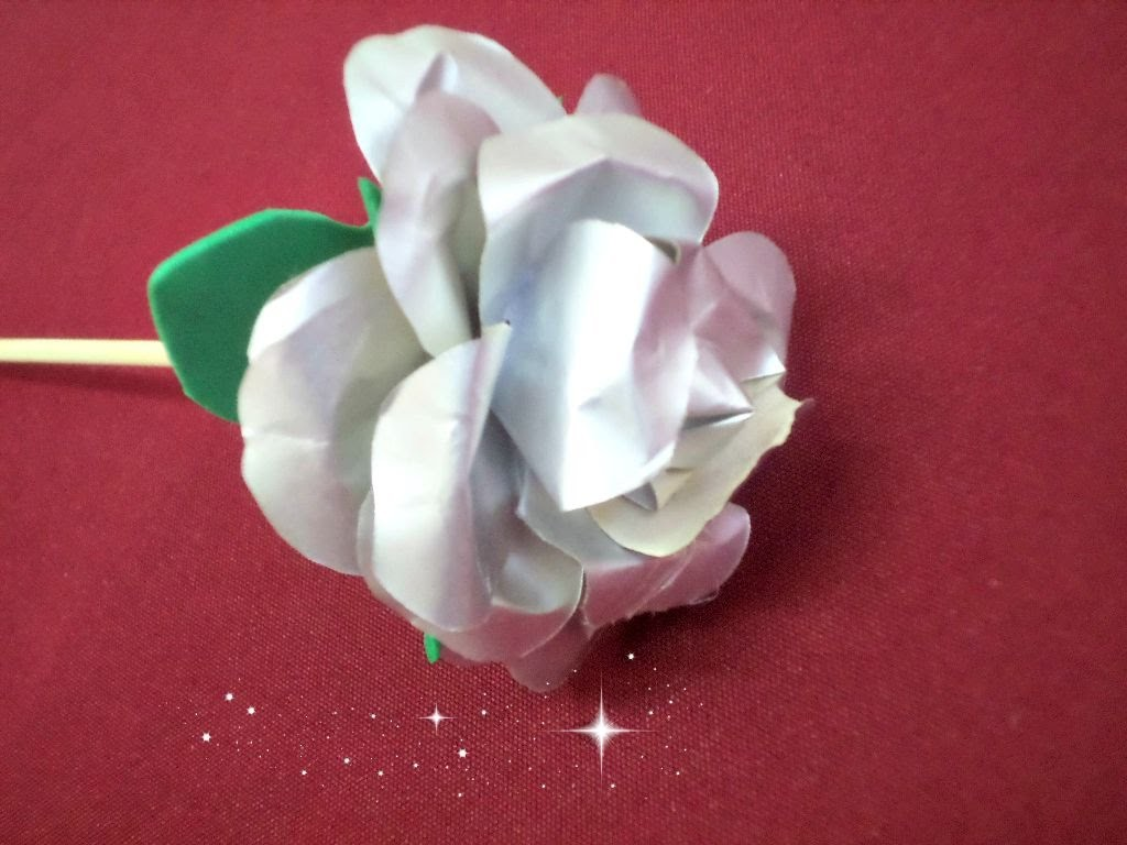 Milk Box Rose - DIY