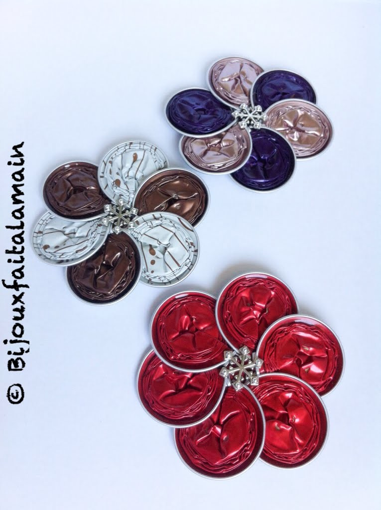 Nespresso DIY: How to make a flower brooch