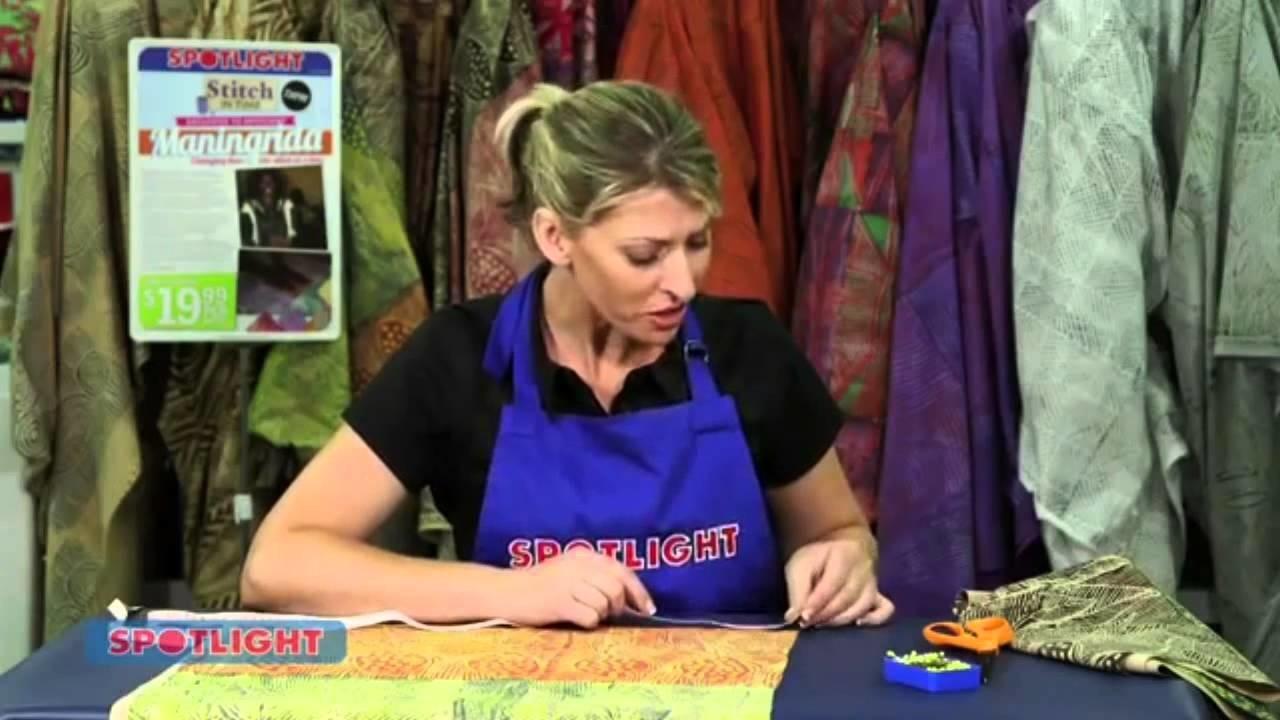 Spotlight DIY Video - Maningrida Straight Box Dress