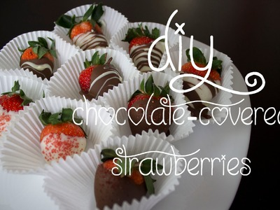 14 Days of Valentine (Day 9): Chocolate-Covered Strawberries