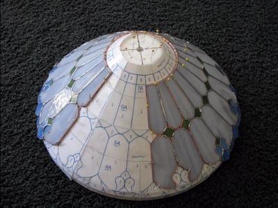 ART NOUVEAU LAMP CONSTRUCTION