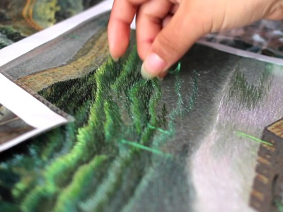 Art of Silk - The Making of Our Silk Embroidery Art