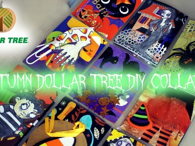 Autumn Dollar Tree DIY Collab| Pocket Letter ft. The Addams Family