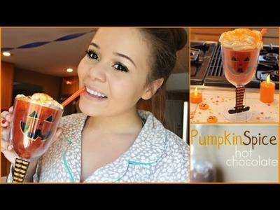 Bake With Sarai Ep #1-Pumpkin Spice Hot Chocolate!