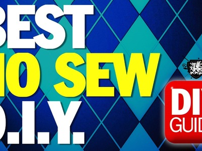 BEST NO SEW DIY's : DIY Guide - Threadbanger