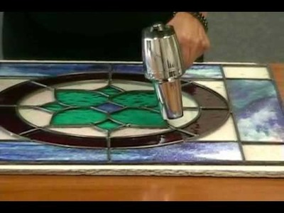 Building a Leaded Stained Glass Window with NO Days Glaze - Quick Cure Method