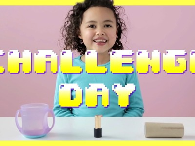 Challenge Day #1 - Water, Lipstick, Toilet Paper Roll?