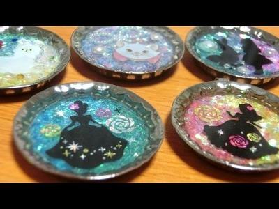 CRAFTLOG: Silhouette Resin Charms